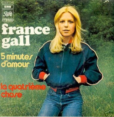 France Gall - 5 minutes d'amour cover