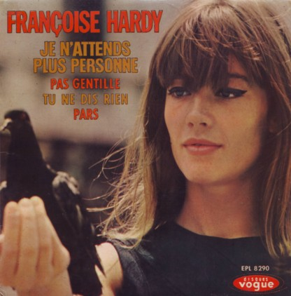 Françoise Hardy - Je n'attends plus personne cover scan