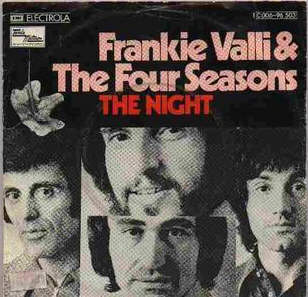 Frankie Valli - The Night cover