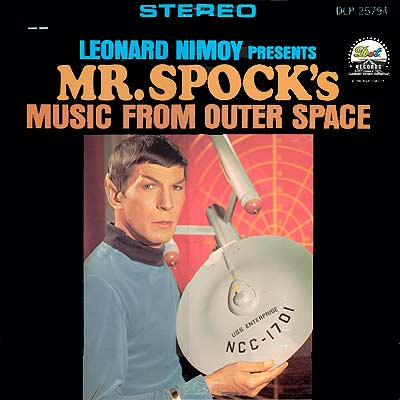 Leonard Nimoy Presents Mr Spock's Music From Outer Space cover