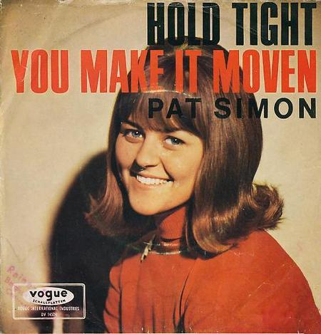 Pat Simon - Hold Tight Cover