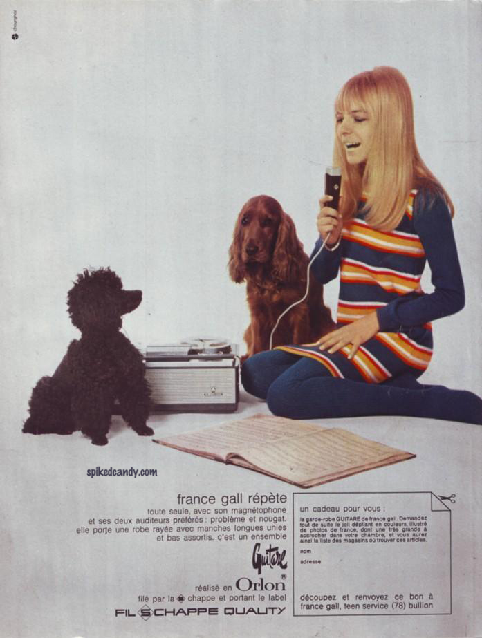 France Gall magazine ad (small)